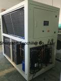10kw-18kw (- 10C) 공기는 우유 냉각 공정을%s 글리콜 물에 의하여 냉각된 냉각장치를 냉각했다