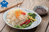 규정식 섬유 음식 Konjac 시금치 국수 또는 건강한 파스타