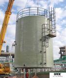 Réservoir de stockage en verre de fibre/récipient chimiques