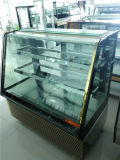 2017 New Style Supermarket Cake Showcase Price / Cake Chiller / Glass Cake Display Cabinet