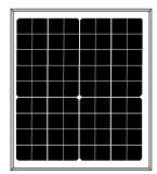 12V 시스템을%s 18V 20W 단청 태양 모듈 (2017년)