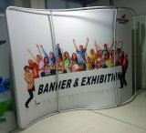 La publicidad portable surge la visualización de la cabina de la exposición de la feria profesional