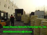 Шланг спиральн высокого масла давления гидровлический резиновый с SAE100r5