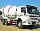 3-10 carro del tanque del mezclador concreto m3