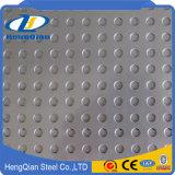 ASTM 201 plaque antidérapante d'acier inoxydable d'heure du Cr 304 430 310S