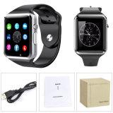 A1人間の特徴をもつiPhoneのためのスマートな腕時計の携帯電話のBluetoothの腕時計のスポーツSIM GSM TF呼出し電話仲間