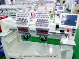 Wonyo 1202c 2 máquina de borda de tampão comercial de computador de cabeça touch