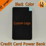 Batterie pour carte d'aluminium / batterie de téléphone portable pour cadeaux d'entreprise