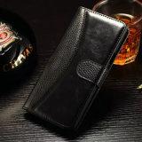 Изготовленный на заказ роскошный случай Foriphone 7/7s телефона неподдельной кожи