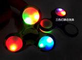 Het grappige Lichtgevende Stuk speelgoed van de Gyroscoop van Vingertoppen