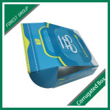 Corrugado caja de zapatos de papel de embalaje de impresión personalizada