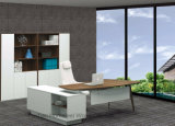 Офисная мебель таблицы менеджера офиса меламина самомоднейшей конструкции деревянная (HF-BSA03)