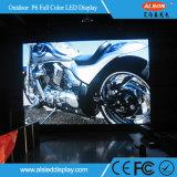 Étalage d'écran extérieur polychrome imperméable à l'eau de P6 DEL avec la FCC