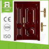 Puerta de acero exterior de la seguridad de la venta al por mayor del surtidor de China para la sala de estar