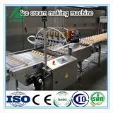 Chaîne de production molle automatique de crême glacée de lait faisant la machine à vendre
