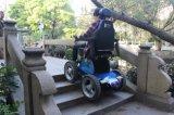 Horizontalsynchronisations-Bewegungs-Technologie-Treppen-kletternden Rollstuhl setzen