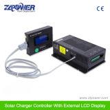 40A 60A MPPT Controlador de carga solar 12V / 24V / 48V con pantalla LCD externa