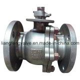Extrémité de bride de robinet à tournant sphérique avec l'acier inoxydable rf