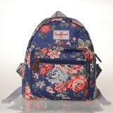 Мешок Backpack холстины PVC малого размера водоустойчивый ретро флористический (23280)