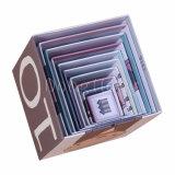 Caixa de presente engraçada feito-à-medida do assentamento do papel de impressão