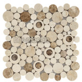 Fabrik-Preis-preiswertes natürliches Marmormosaik für Baumaterial (FYSL345)