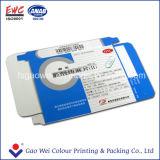 Caixa de empacotamento do papel de impressão da cor