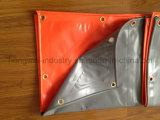 rullo impermeabile del tessuto della plastica di vinile del PVC per la tela incatramata del PVC