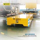 10 Voertuig van het Spoorwegvervoer van de Aanhangwagen van de Zware industrie van de ton het Vlakke