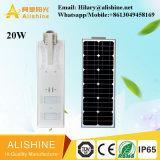fabricante solar de la iluminación 20W para la luz de calle solar del jardín