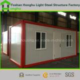 Casa do recipiente do baixo custo e dormitório portáteis Prefab dos trabalhadores para a venda