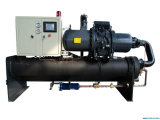 refrigerador de refrigeração água do parafuso 120ton no Smelting Furnance da freqüência