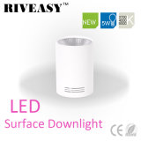iluminación blanca montada superficie SMD de Downlight LED de la MAZORCA de 5W LED