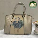 Beau sac à main neuf Sy8020 d'impression de qualité de sac d'emballage d'unité centrale de fille de mode de modèle