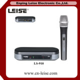 Микрофон радиотелеграфа UHF Ls-910 профессиональный беспроволочный Micorpone Одиночн-CH