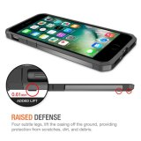 De choque à moda do caso da defesa tampa perfeita absorvente levantada do telefone do ajuste para Samsung S6