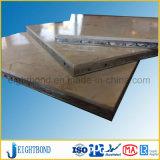 Облегченная мраморный алюминиевая панель сота для стены здания внешней