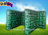 T Shaped Wall Tatical Paintball Bunker