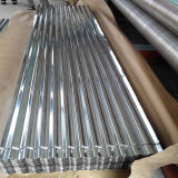 Tôle d'acier galvanisée ondulée d'onde de tuile/eau de toit de Gi