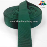 23mm zeichnet leichte kleine der Twill-Webart Waldgrün-Polyester-Material-Band