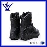 熱い販売の本革の黒の軍のブートの戦術的なブートか軍隊のブート(SYSG-240)
