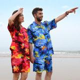 Hawaii-Geliebt-Strand-Hemd für Feiertag