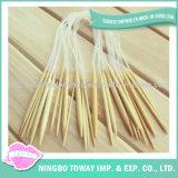 La configuration font à des tailles de coutume d'outil les pointeaux de tricotage circulaires en bambou en bois