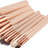 Balais réglés en nylon mous supplémentaires de renivellement du produit de beauté 8PCS de base d'outils de beauté de renivellement