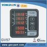 De multifunctionele Digitale Meter van de Frequentie van het Comité Gv57 voor Genset