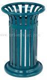 고품질 40L는 옥외 최고 라운드 쓰레기 통을 연다