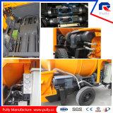 Pully Fabricant Camion Pompe à béton avec pompe (JBC40-P)