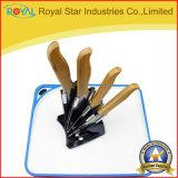 Faca de cozinha cerâmica da polegada 6PCS das vendas por atacado 3-6 ajustada (RYST0236C)