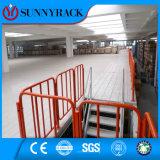 Plataforma industrial del acero del almacenaje del almacén