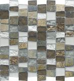 Marmeren Mozaïek van de Sectie van het Bouwmateriaal van het trapezoïde Het Natuurlijke