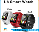 Montre intelligente U8, montre mobile de Bluetooth de Smartwatch